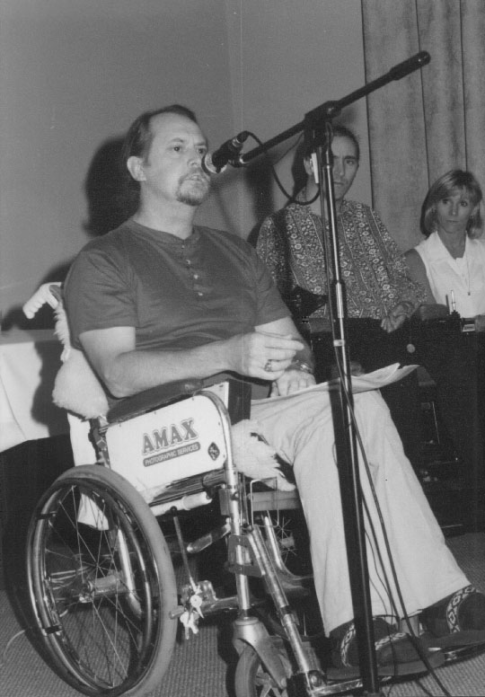 Max Magain speaks at the Seminar
