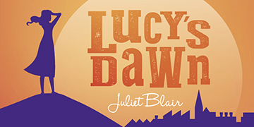 Portion of the cover from the children's 'Lucy's Dawn'