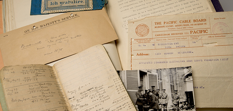 manuscripts from world war one