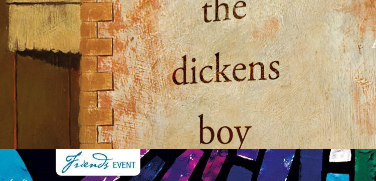 Cover of The Dickens Boy by Tom Keneally, published by Vintage, part of Penguin Random House Group