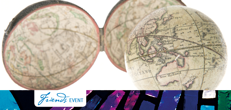 Friends online event: Globes. Nicholas Lane, 1776,  A new globe of the earth.
