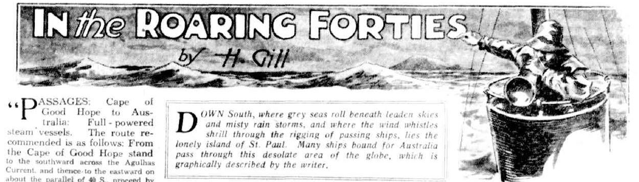 In the Roaring Forties