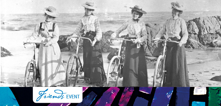 4 Women with bicycles nla.obj-137412799