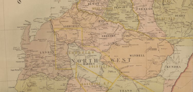 Western Australia, Department of Lands and Surveys & Johnstone, Harry F. (1909), Map of Western Australia, 1909, nla.obj-229850710