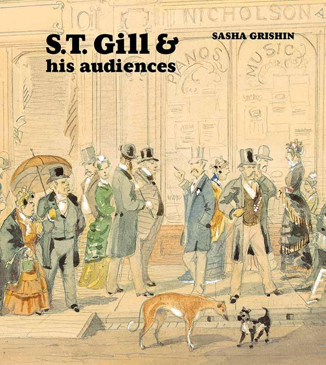 Cover of S.T. Gill and his audiences book