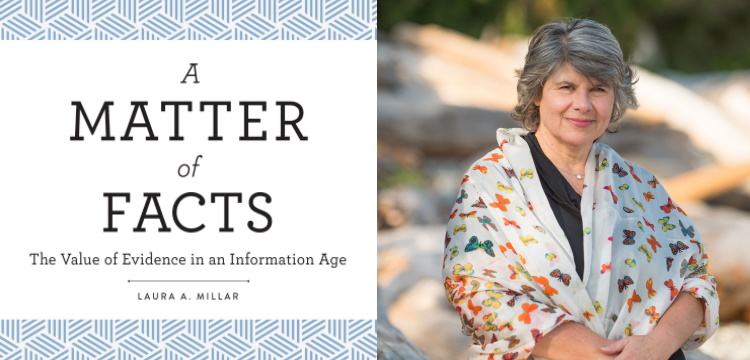 Cover of A Matter of Facts ; Laura Miller, Image supplied by author