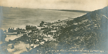 old photo of gallipoli