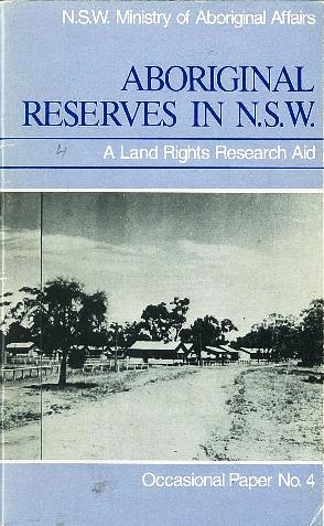 Aboriginal reserves in NSW