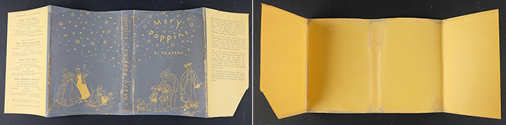 After treatment of dust jacket