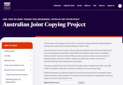 Australian Joint Copying Project