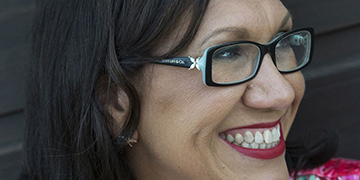 Anita Heiss, author of Growing Up Aboriginal in Australia