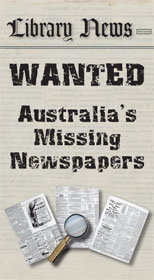Australia's missing newspapers