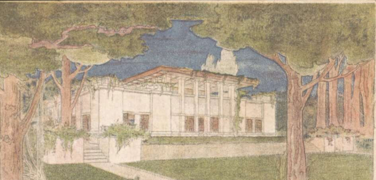 Where can I find old architectural plans and drawings National