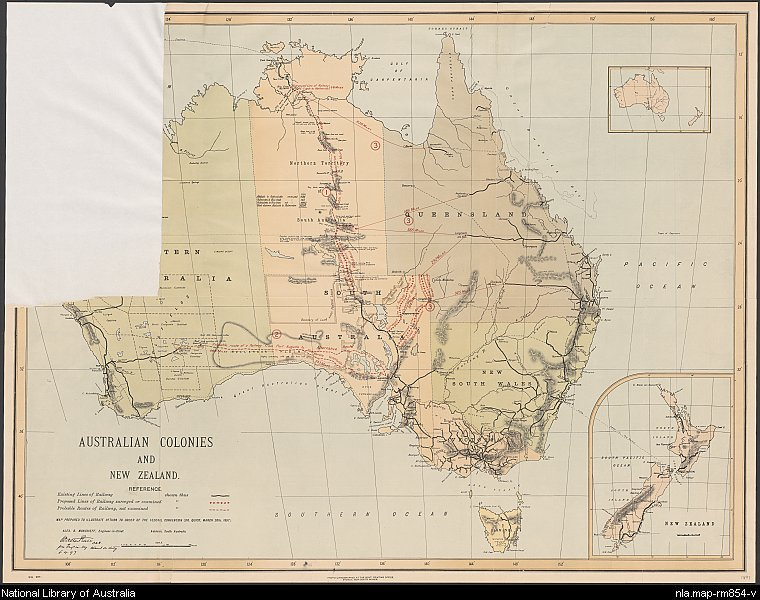 Australian colonies and New Zealand