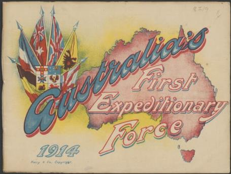 Australia's first expeditionary force, 1914