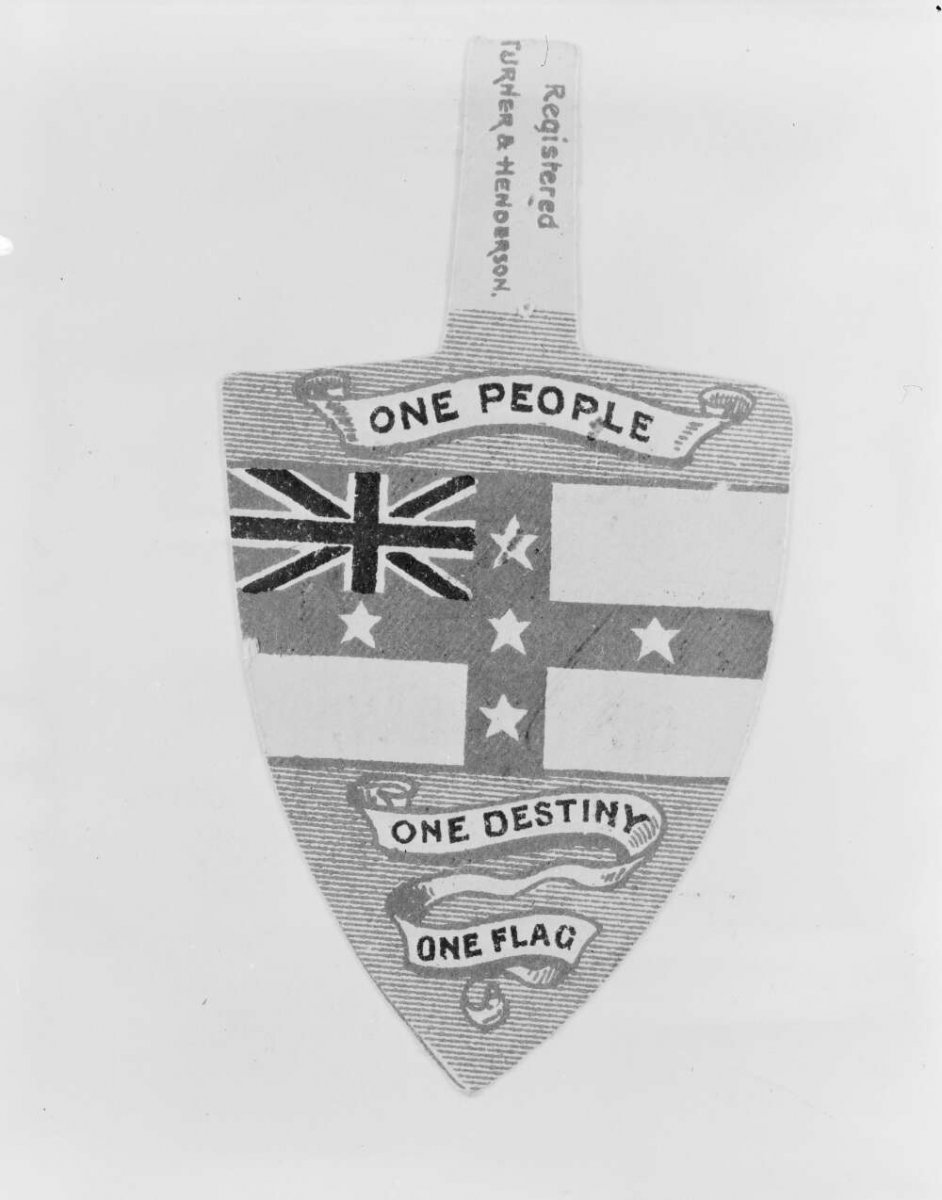 Badge of the Australia Federation League of New South Wales ca. 1900