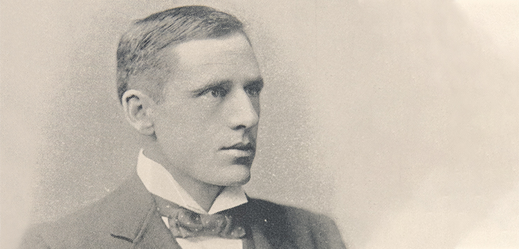 Portrait of Banjo Paterson