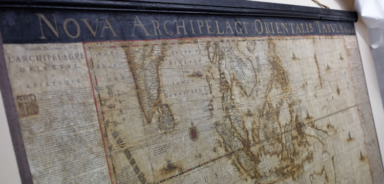 Detail of restored Blaeu Map