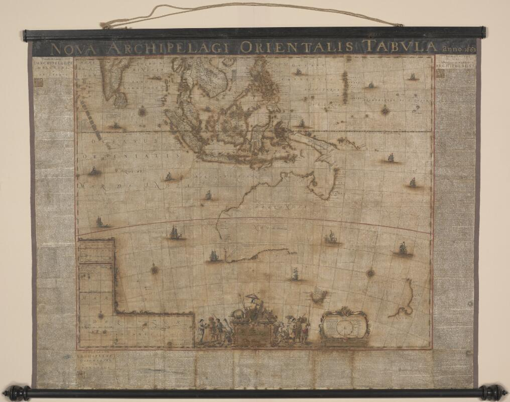 Blaeu Map following restoration
