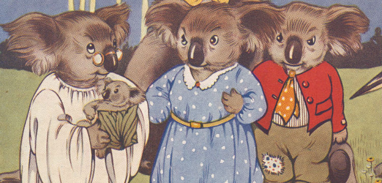 Dorothy Wall (1894–1942), Blinky Bill, The Quaint Little Australian, 1933, nla.cat-vn2770260