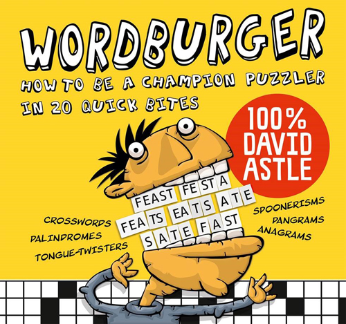 Image of the cover of Wordburger the book