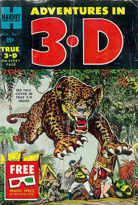 Adventures in 3D cover