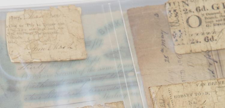 Ferguson Promissory Notes in folder