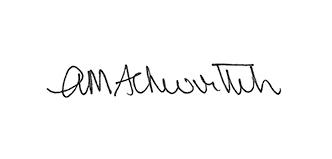 Anne-Marie Schwirtlich AM signature