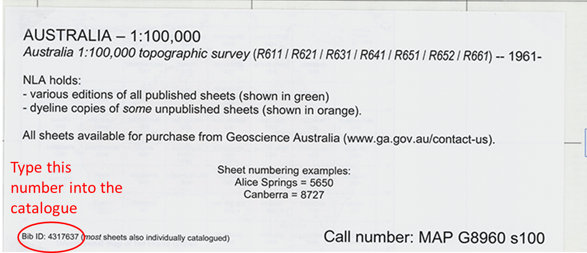 Find and request an Australian topographic map | National ...