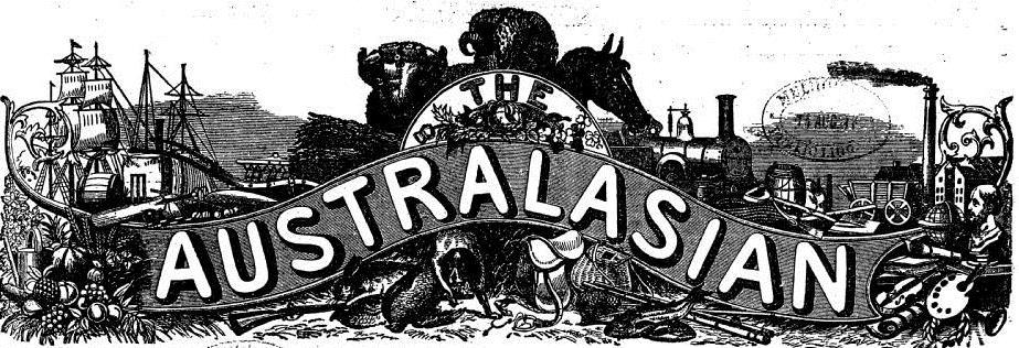 The Australasian masthead 1897