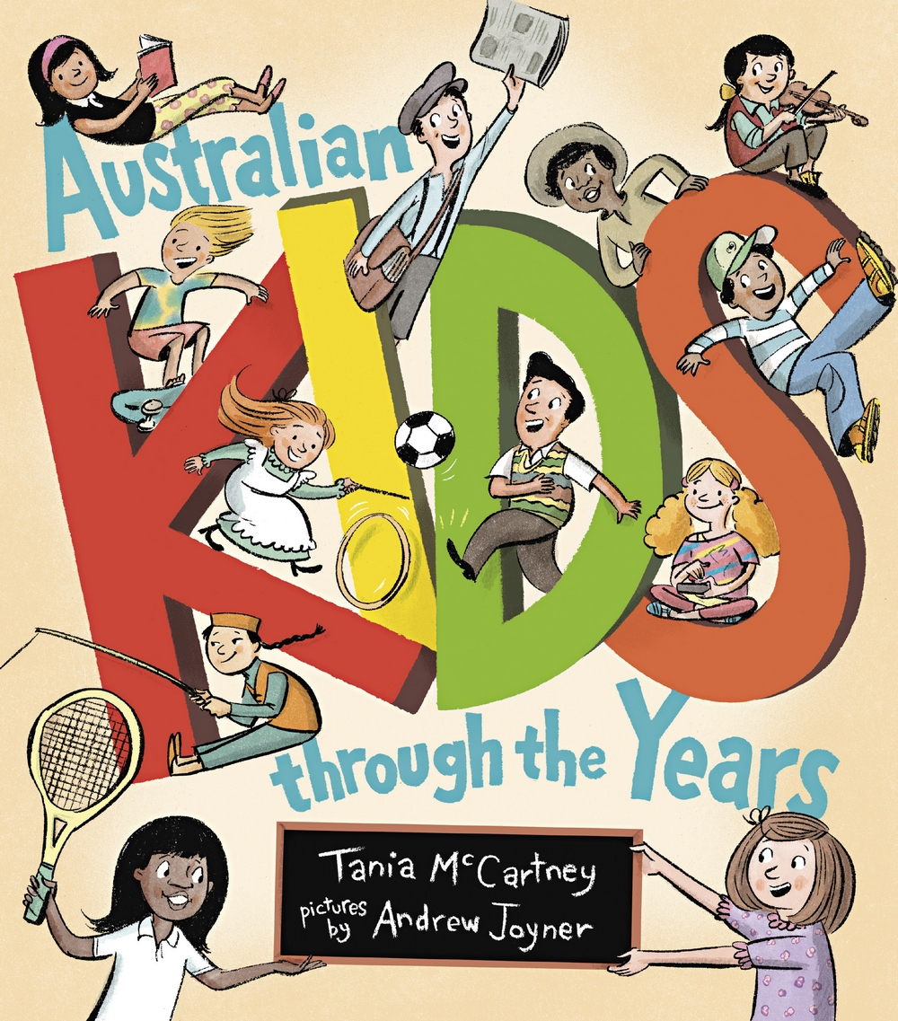 Cover of Australian Kids through the Years