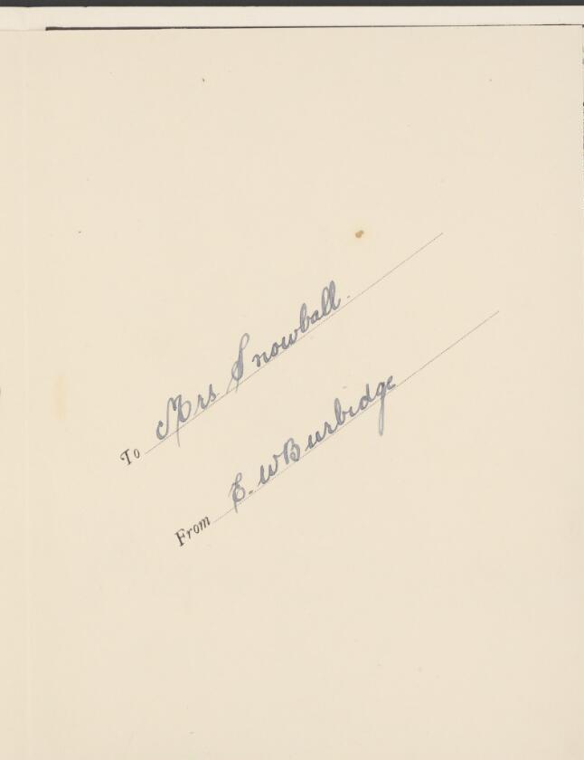 Burbidge signature