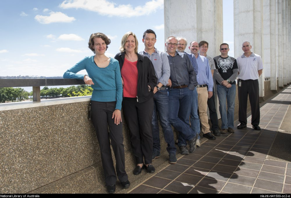 Picture of National Library of Australia staff
