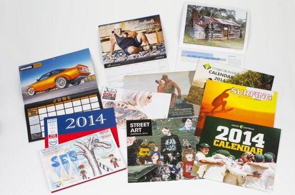 Selection of 2014 calendars