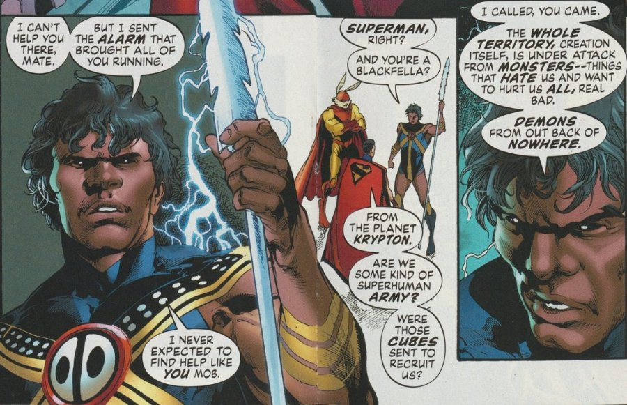 The Thunderer meets Superman
