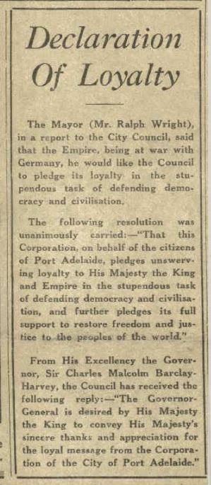 Declaration from The Citizen newspaper