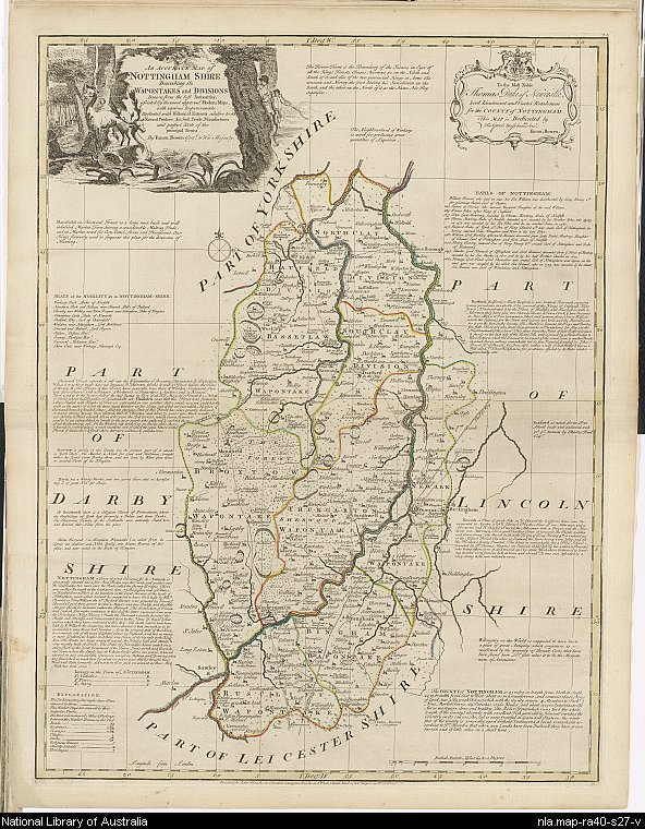 Map From England To Australia.Early Atlases And County Maps Of Britain And Ireland National