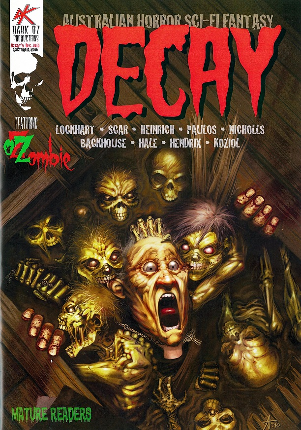 Cover of Decay (December 2010)