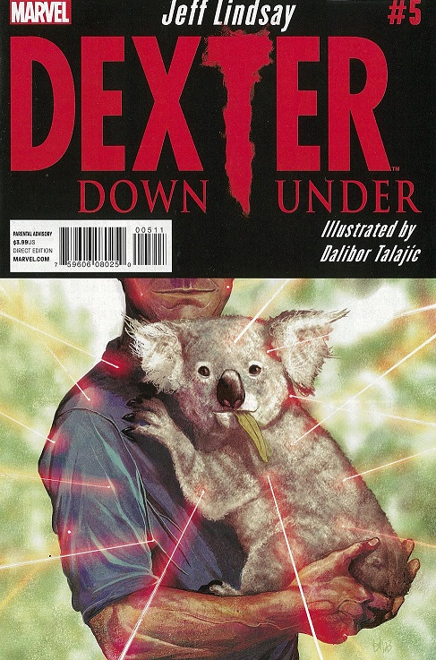 Cover of Dexter Down Under
