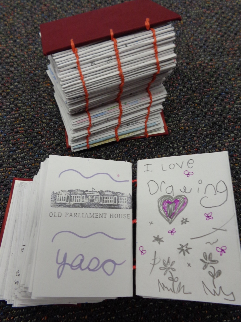 MoAD zines donated to the Library