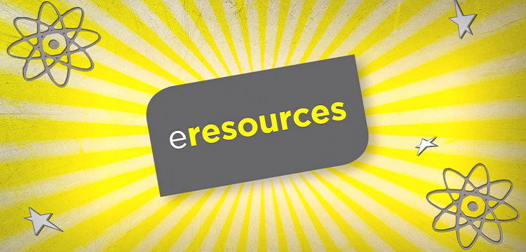 A stylised eResources logo