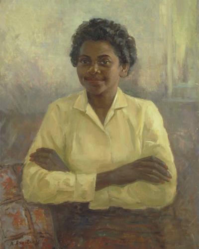 Portrait of Faith Bandler