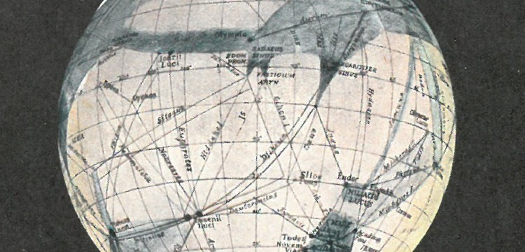 Image from Mars as the Abode of Life - Percival Lowell (1908)