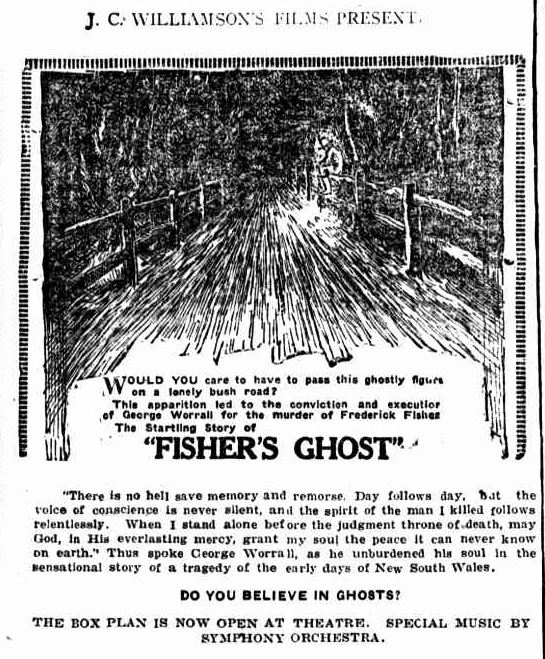 Fisher's Ghost ad in Queensland Times, 3 June 1925