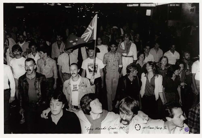 'Gay and proud', Mardi Gras 1981