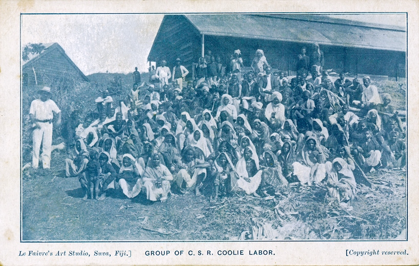 Group of C.S.R. Coolie Labor