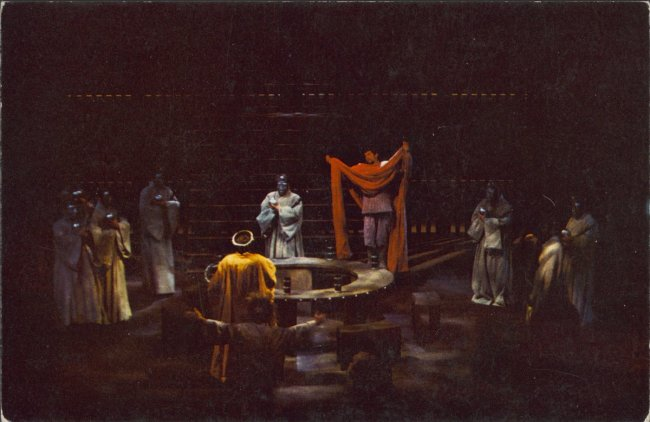 Photograph of performance of Hamlet