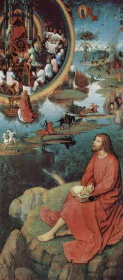 Painting by Hans Memling of St John