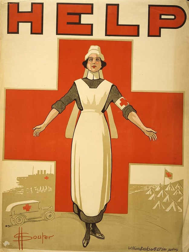 WWI poster - Australian Red Cross Society