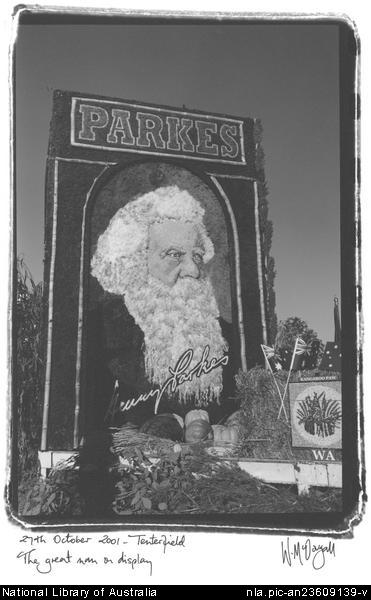 Picture of Henry Parkes display